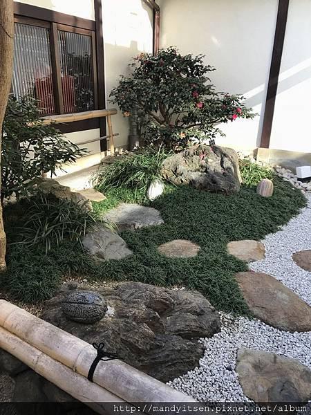 巧克力專門店Bel Amer京都別邸的日式庭園