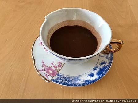 香濃的熱巧克力:ショコラ「笑」