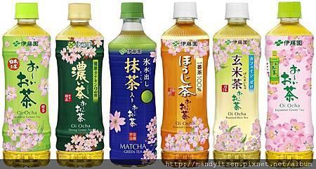 伊藤園瓶裝茶系列