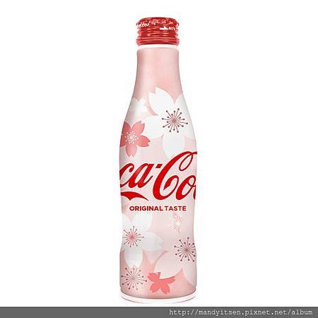 可口可樂曲線瓶春限定包裝