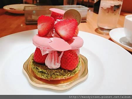 櫻花馬卡龍蛋糕by Lipton