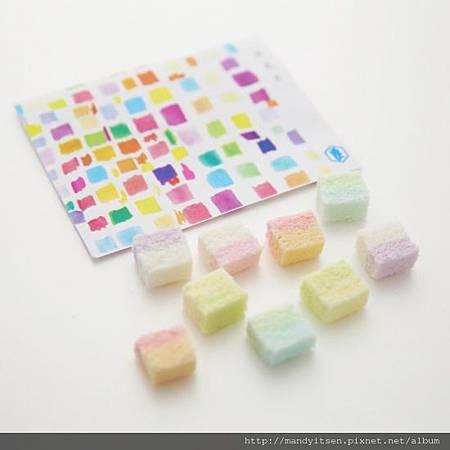 「虹の色」乾菓子