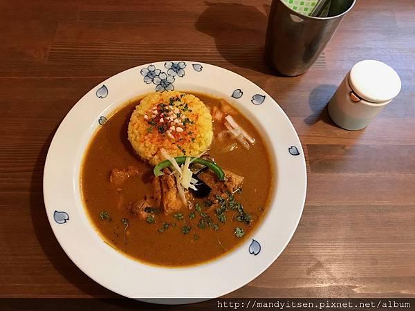 asipai的鳥取雞肉咖哩飯
