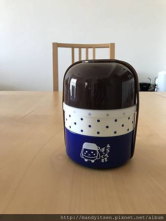 嵐電原創獨家贈品:兩段式便當盒