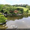 日本庭園的心字池