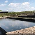 和平玫瑰園的水池