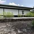 日本庭園之千里庵茶室外觀