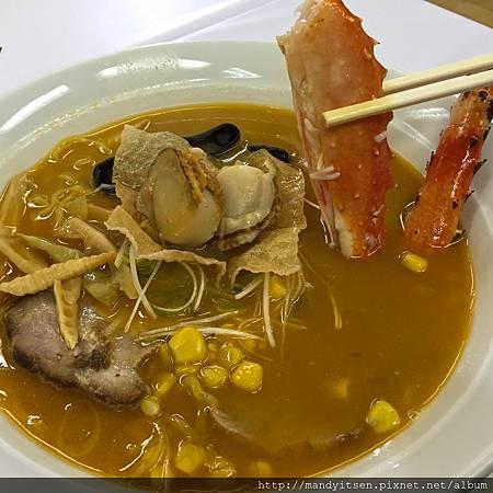北海道螃蟹味噌拉麵