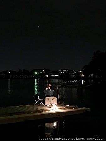 中秋夜,嵐山