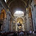 聖彼得大教堂內部