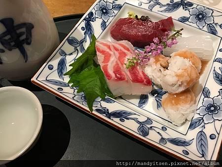 季節性綜合生魚片