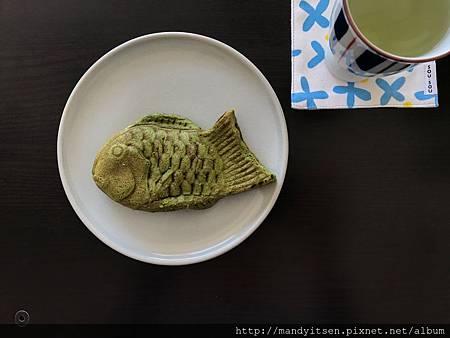 抹茶紅豆鯛魚燒