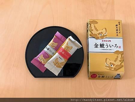名古屋代表性的和菓子:金鯱外良