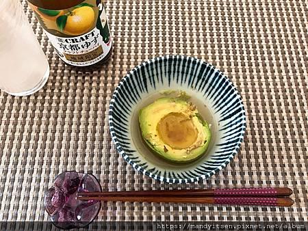 無食譜試做:京風關東煮之酪梨