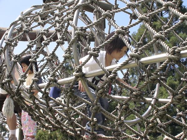 柔柔首次挑戢原野遊戲--蛇籠-1