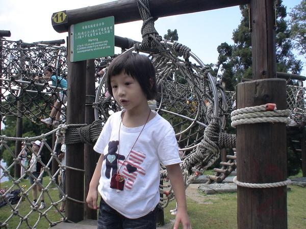 柔柔首次挑戢原野遊戲--蛇籠-6