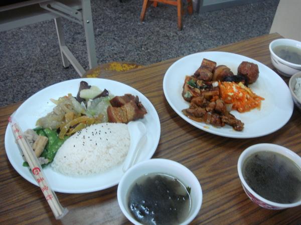 小志與雲葶的菜色