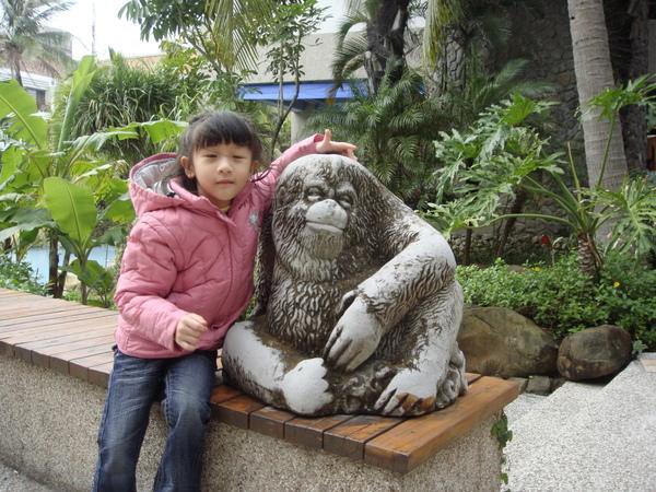 我是猴子?!