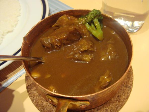 蒜味豬肉咖哩