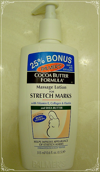 Cocoa Butter Formula Massage Lotion for Stretch Marks