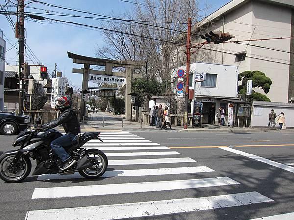 在東安井站下車.JPG