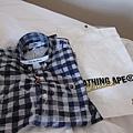 昨天在京都買的襯衫,我的.JPG