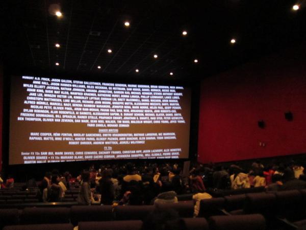 樂聲戲院的大廳~好久好久沒來這看電影嚕
