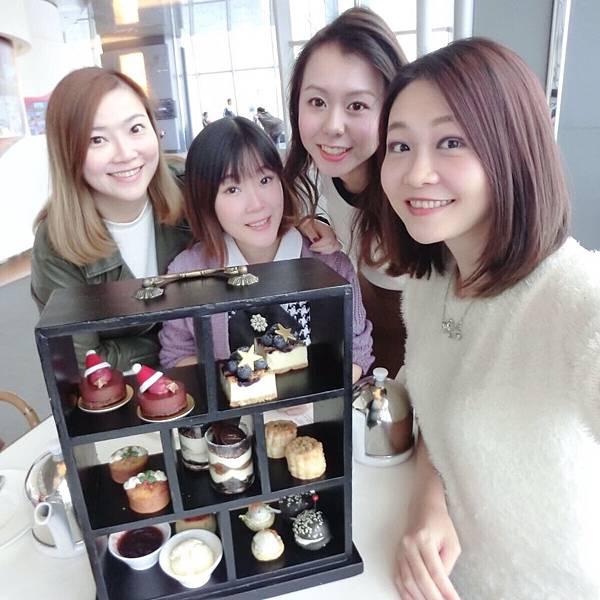 *~【飲飲食食】聖誕限定♥Café 100 聖誕下午茶@Sky 100~*