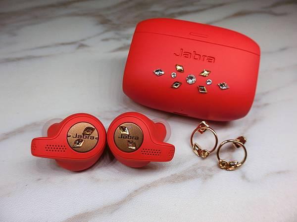 *~時尚女士必備♥Jabra x Swarovski 水晶限量版耳機+耳環套裝~*