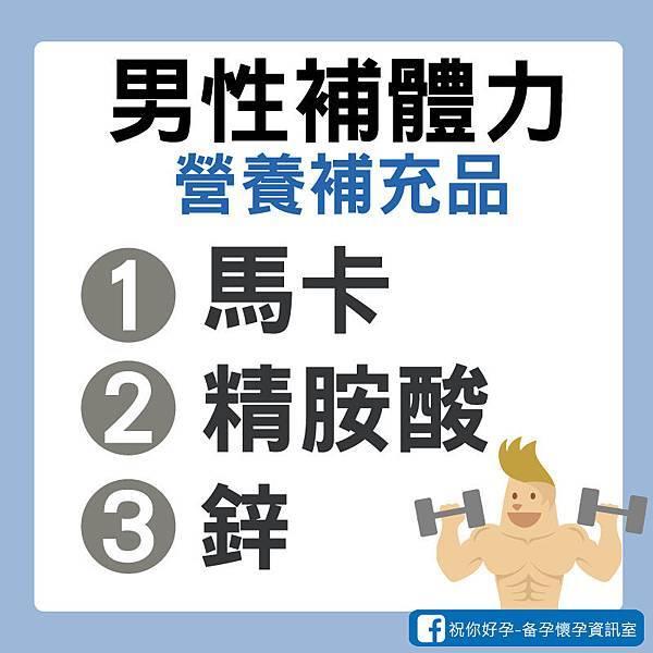 男人維持體力營養補充品