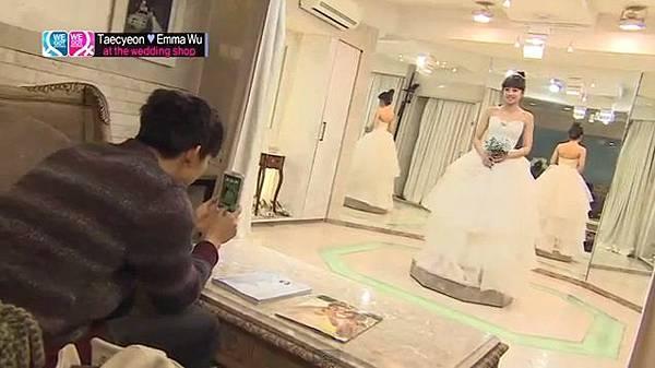 穿結婚禮服的鬼鬼
