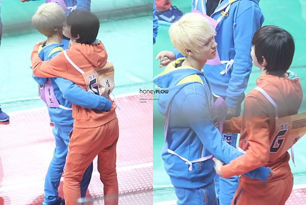成鍾和L.Joe抱抱 好可愛唷XDD