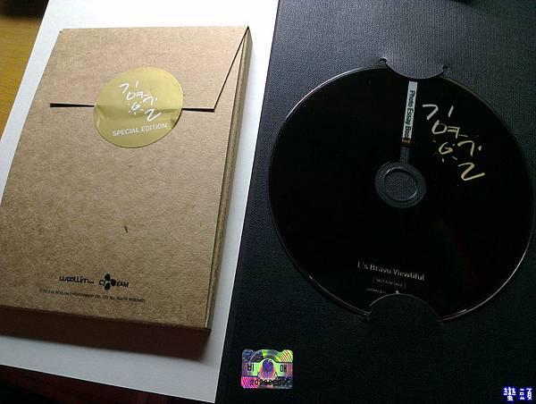 明信片外觀&DVD