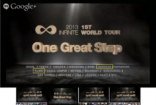 演唱會取名為One Great Step