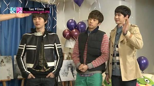 2PM成員 佑榮 尼坤和俊昊
