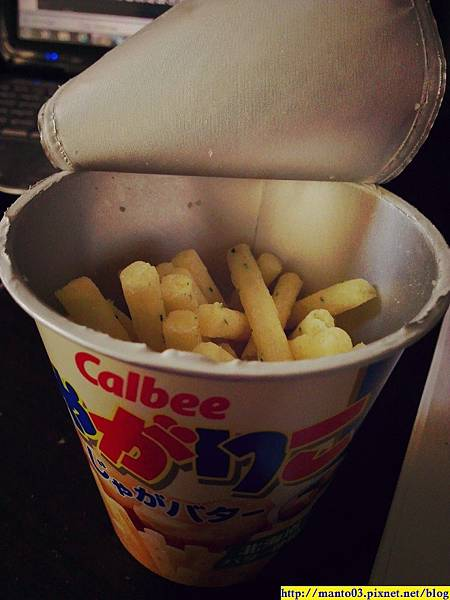 Calbee馬鈴薯奶油