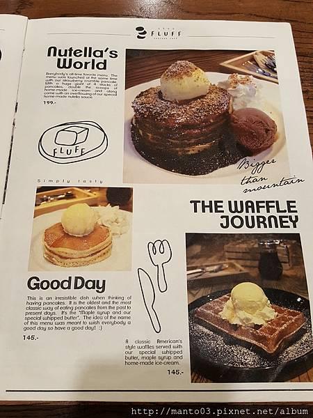 Pancake Cafe in Bangkok