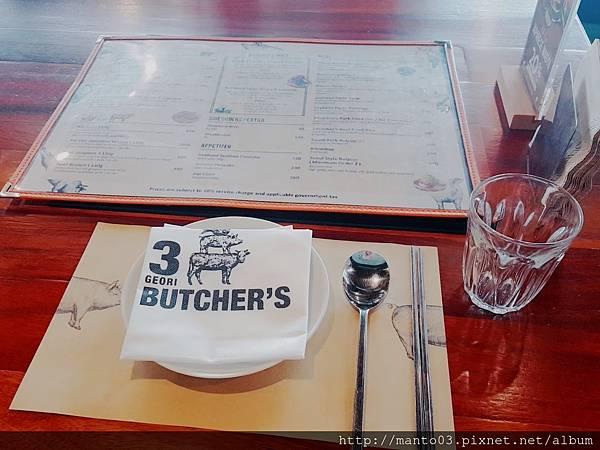 3 GEORI BUTCHER'S