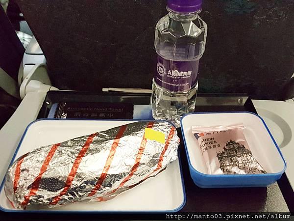 澳門航空餐點