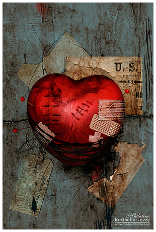 How to heal a broken heart by temporary peace
