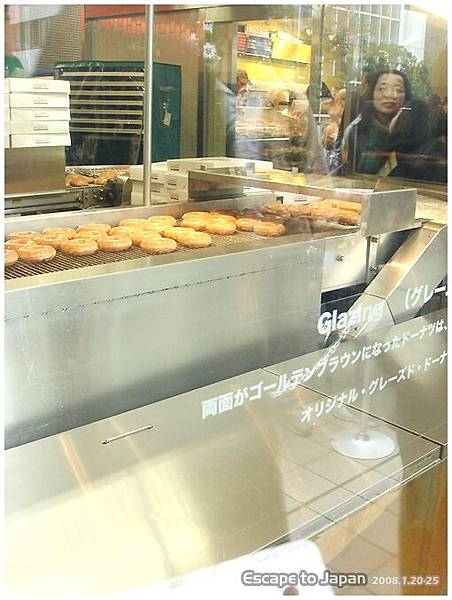 甜甜圈的製造過程