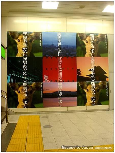 渋谷站的鹿男廣告