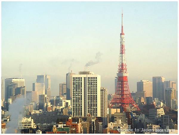 早上的東京鐵塔