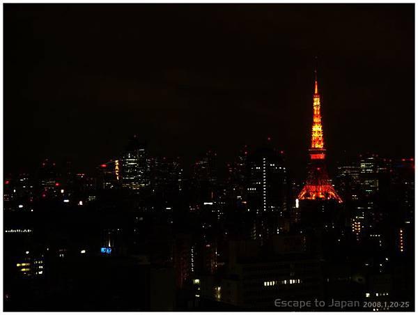 窗外的東京鐵塔