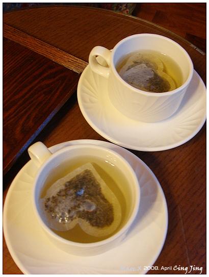 茶包竟然是愛心狀......冏rz