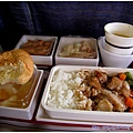 華航的飛機餐 - 雞肉飯