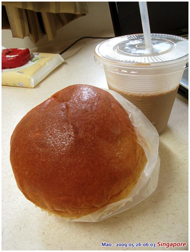 簡單的早餐 In NUS