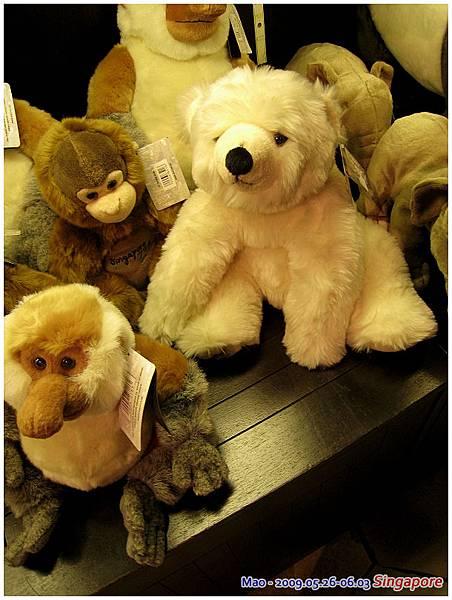 北極熊 哭哭 結果還是沒買~