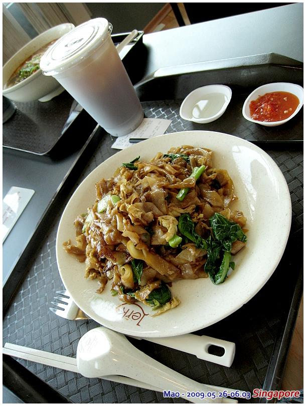 吃泰式風 我這炒河粉很好吃!!