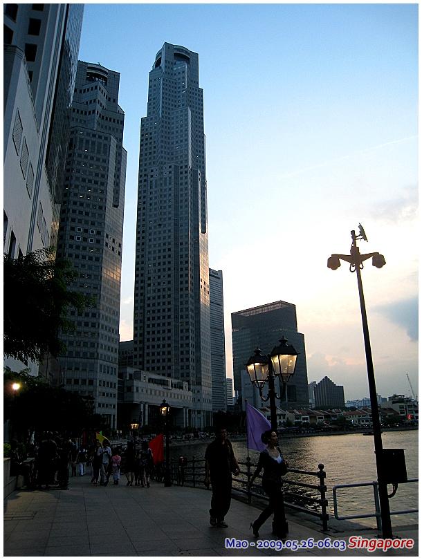 港邊高樓大廈